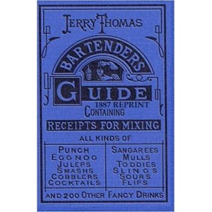 Libro Jerry Thomas 1887 Bartenders guide