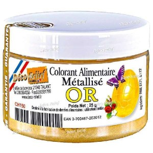 Colorante polvo Oro Deco 25 gr