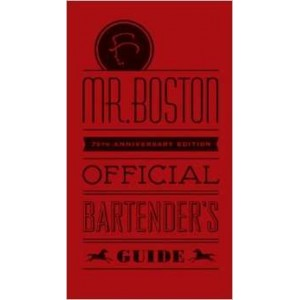 Libro Mr. Boston Bartender's Guide